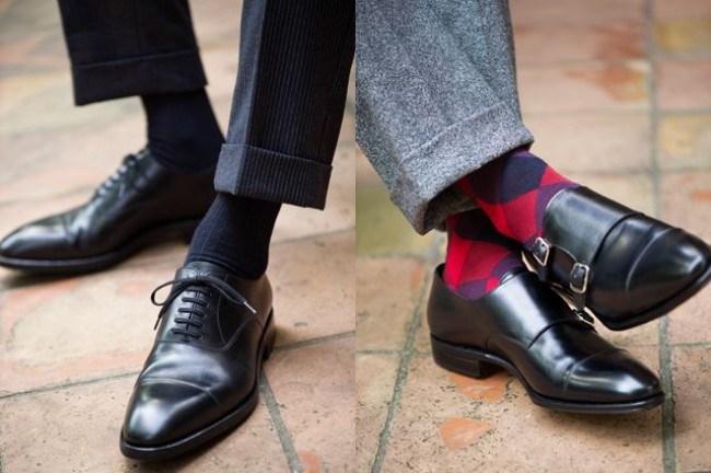 como combinar tus calcetines