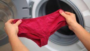 Cómo lavar la ropa interior en la lavadora