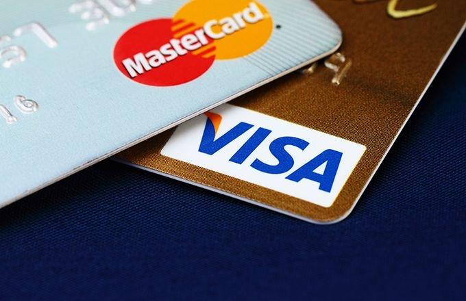 tarjeta de crédito visa o mastercard