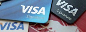 tarjeta con beneficios de Visa Signature