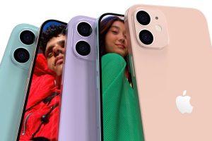 IPhone 12 en tonos pastel