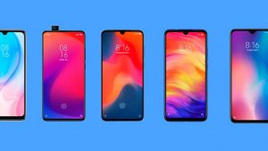 modelos de diferentes celulares